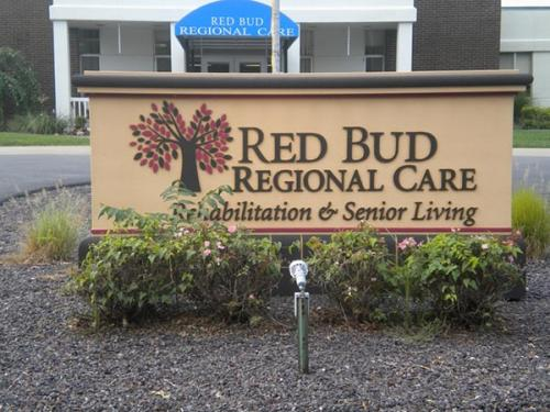 exterior building sign red bud il